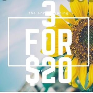 🌻🌻🌻Three items for $20! 🌻🌻🌻
